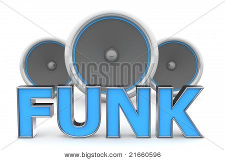 Speakers Funk - Blue