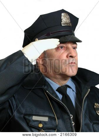 Police Salute