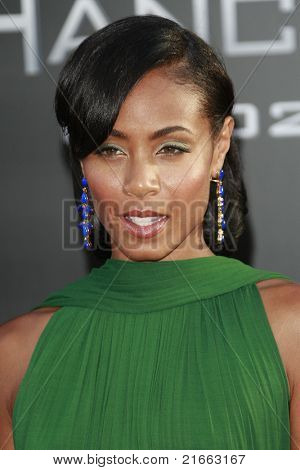 LOS ANGELES - JUN 30: Jada Pinkett Smith at the premiere of 'Hancock' in Los Angeles, California on June 30, 2008