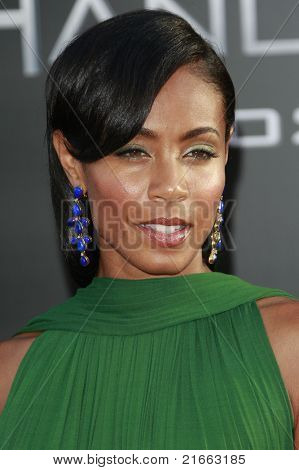 "Los Angeles jun 30: Jada Pinkett Smith auf der Premiere von ""Hancock"" in Los Angeles, Kalifornien"
