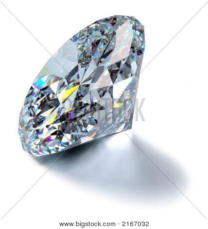 Glitzernde Diamond