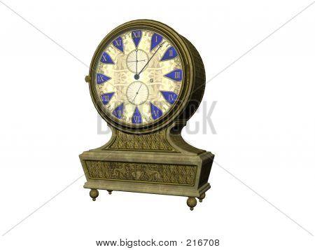 Antike Uhr