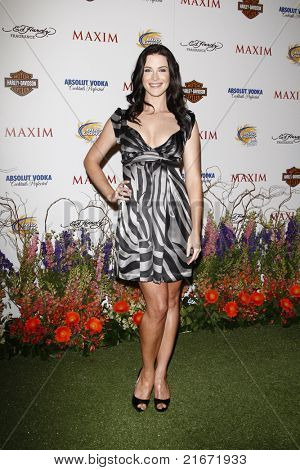 LOS ANGELES, CA - MAY 19: Bridget Regan arrives at the 11th annual Maxim Hot 100 Party at Paramount Studios on May 19, 2010 in Los Angeles, California
