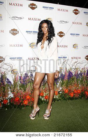 LOS ANGELES, CA - MAY 19: Ciara arrives at the 11th annual Maxim Hot 100 Party at Paramount Studios on May 19, 2010 in Los Angeles, California