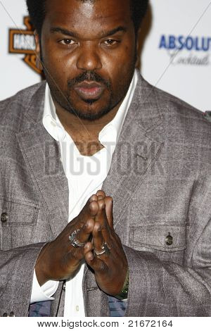 LOS ANGELES, CA - MAY 19: Craig Robinson arrives at the 11th annual Maxim Hot 100 Party at Paramount Studios on May 19, 2010 in Los Angeles, California