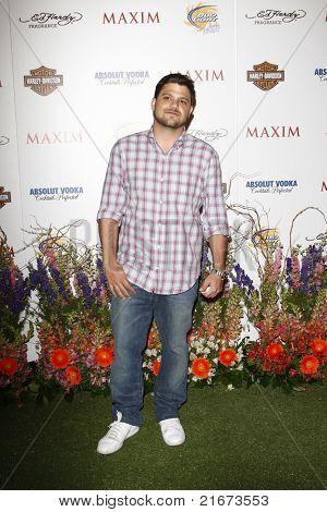 LOS ANGELES, CA - 19 de maio: Jerry Ferrara chega a 11 Maxim Hot 100 festa anual na Paramount