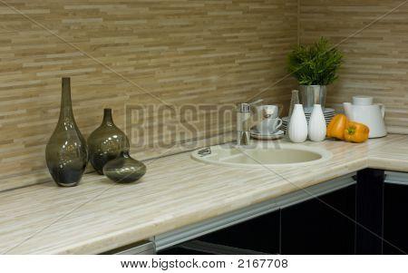 die moderne Küche-detail