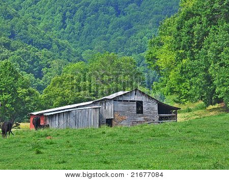 West Virginia Barn