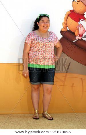 "LOS ANGELES - JUL 10:  Raini Rodriguez arriving at the ""Winnie, the Pooh"" Premiere at Walt Disney Studios on July 10, 2011 in Burbank, CA"