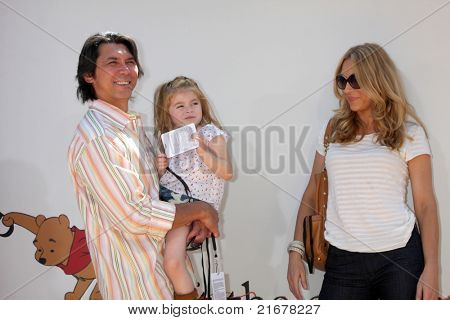 LOS ANGELES - JUL 10:  Lou Diamond Phillips arriving at the