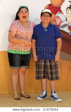 LOS ANGELES - JUL 10:  Raini Rodriguez, Rico Rodriguez arriving at the