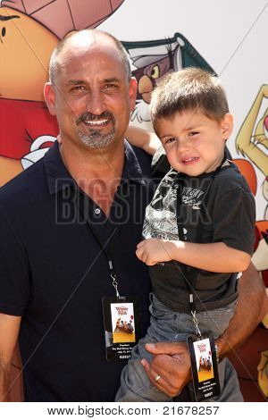 LOS ANGELES - JUL 10:  Michael Papajohn, Sean Papajohn arriving at the