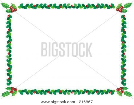 holly border for powerpoint.