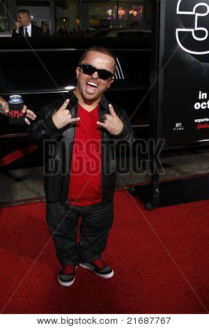LOS ANGELES - APR 10:  Jason Acuna aka Wee Man at the Jackass 3D premiere held at Grauman's Chinese Theater in Los Angeles, California on April 10, 2010