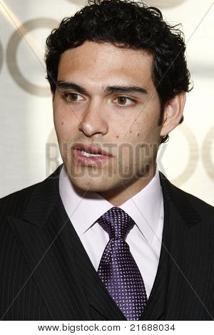 LOS ANGELES - MAY 10:  Mark Sanchez as Mark Sanchez of the NFL Jets is honored by the Inner City Games LA + Hollenbeck Youth Center with the Family of the Year Award in Los Angeles, CA on May 10, 2010