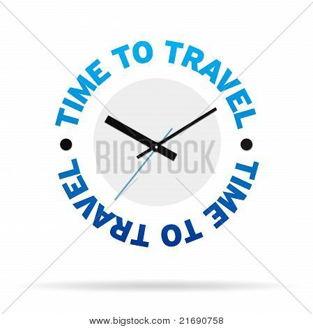 Time To Travel Clock