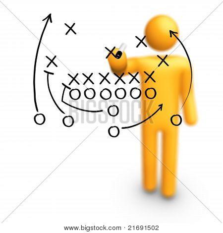 Estratégia de futebol americano