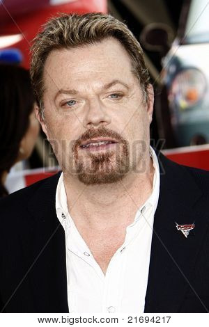 """LOS ANGELES - JUN 18:  Eddie Izzard arriving at the """"Cars 2"""" Premiere at the El Capitan Theater on June 18, 2011 in Los Angeles, CA"""