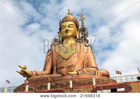 Largest Statue Of Buddhist Guru Padmasambhav