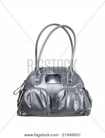 Silber Handtasche