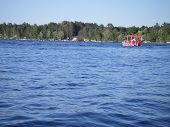 image of winnebago  - A view of the beautiful Winnebago Lake during summer - JPG