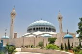 stock photo of amman  - King Abdullah mosque in Amman - JPG