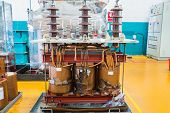Damage Three Phase Transformer poster