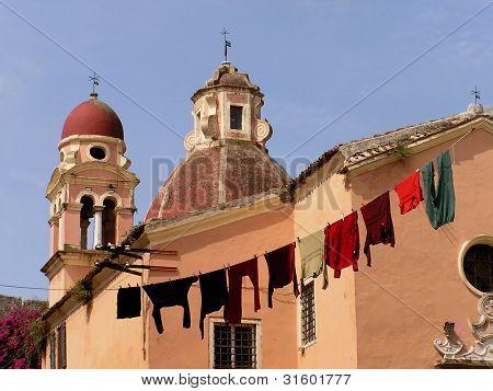 Old Church, Corfu Greece