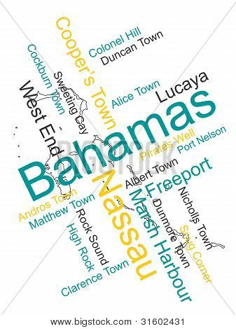 The Bahamas Map And Cities