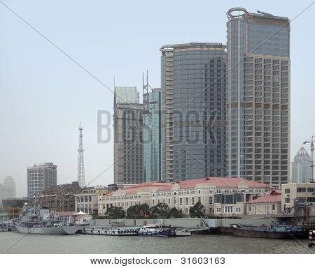 Shanghai At Huangpu River