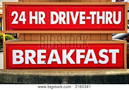 24 Hour Drive-Thru
