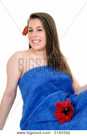 Young Woman, Spa Centre