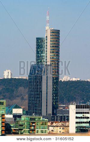 High-rise Building. Vilnius. Lithuania.