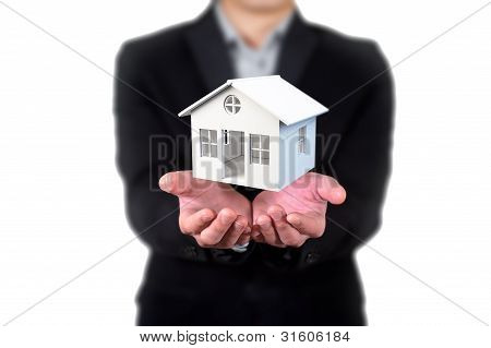 House In Human Hands, Businessman