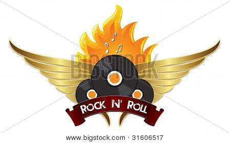 Rock N  Roll Sign