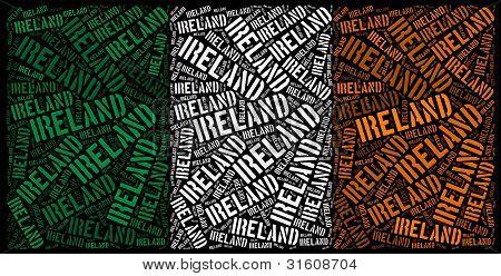 Ireland national flag