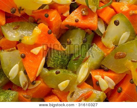 indian vegetable medley