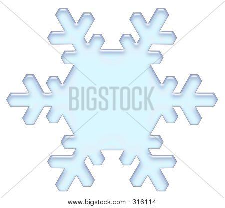 El copo de nieve