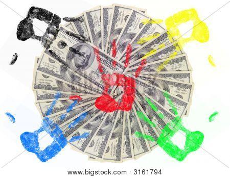 Us Dollars Background
