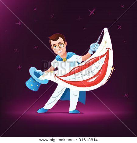 Dentist magician