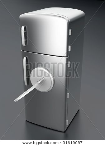 Locked Fridge