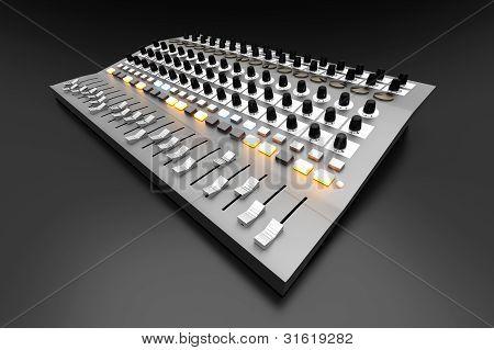 Mixing Board.