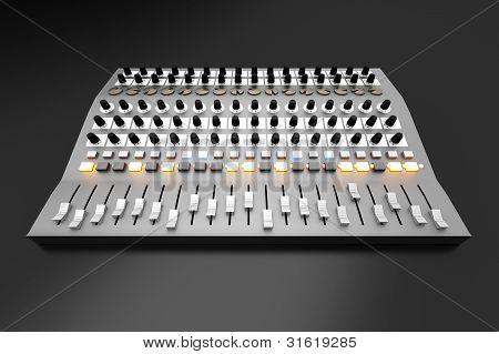 Mixing Board..