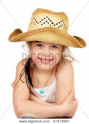Happy Little Pretty Cowgirl