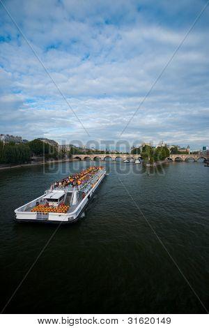 Seine River Cruise Ship Paris V
