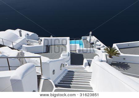 Typical architecture design at Santorini