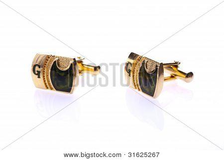 Gold Cuff-links