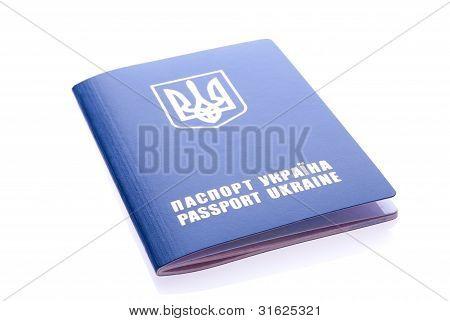 Foreign Passport Of Citizen Of Ukraine