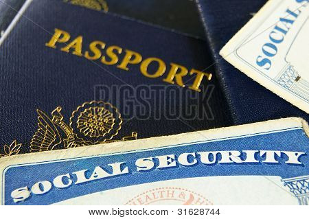 Social Security Cards And Passports