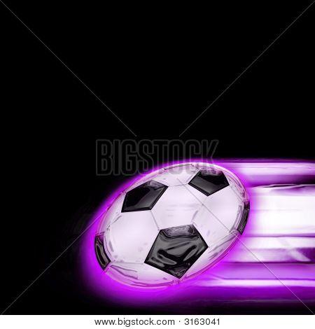 Football Intense Purple
